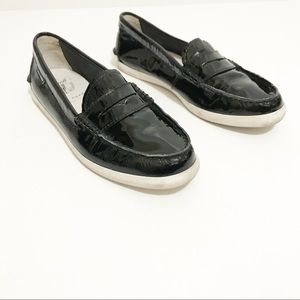 Cole Haan Pinch Patent Weekender Size 8